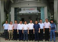 Thứ trưởng Bộ Công Thương Hoàng Quốc Vượng đến thăm và làm việc tại Tổng công ty Phát điện 2